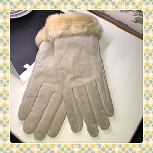 Leather/Thinsulate Lined Gloves NWOT